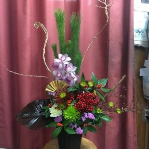 お正月のお花色々(…